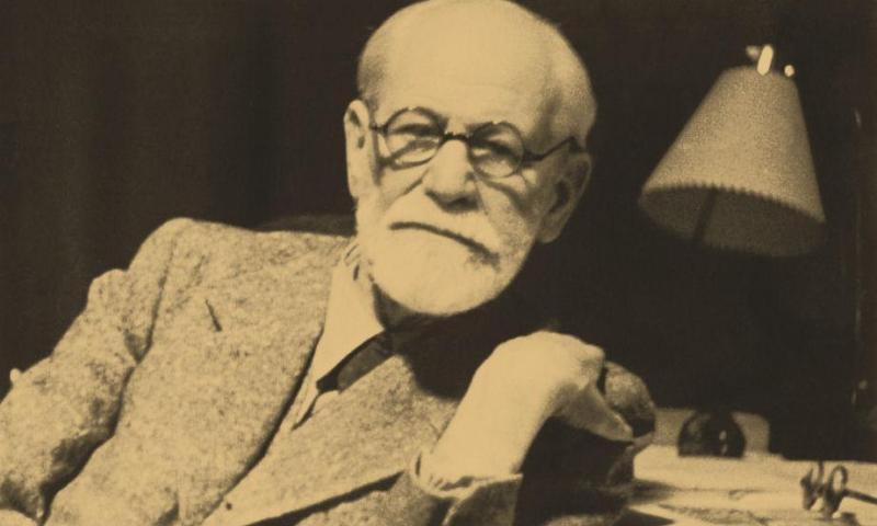 L'antro della Pizia. Sigmund Freud