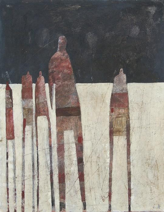 Scott Bergey, Painting a day in the life