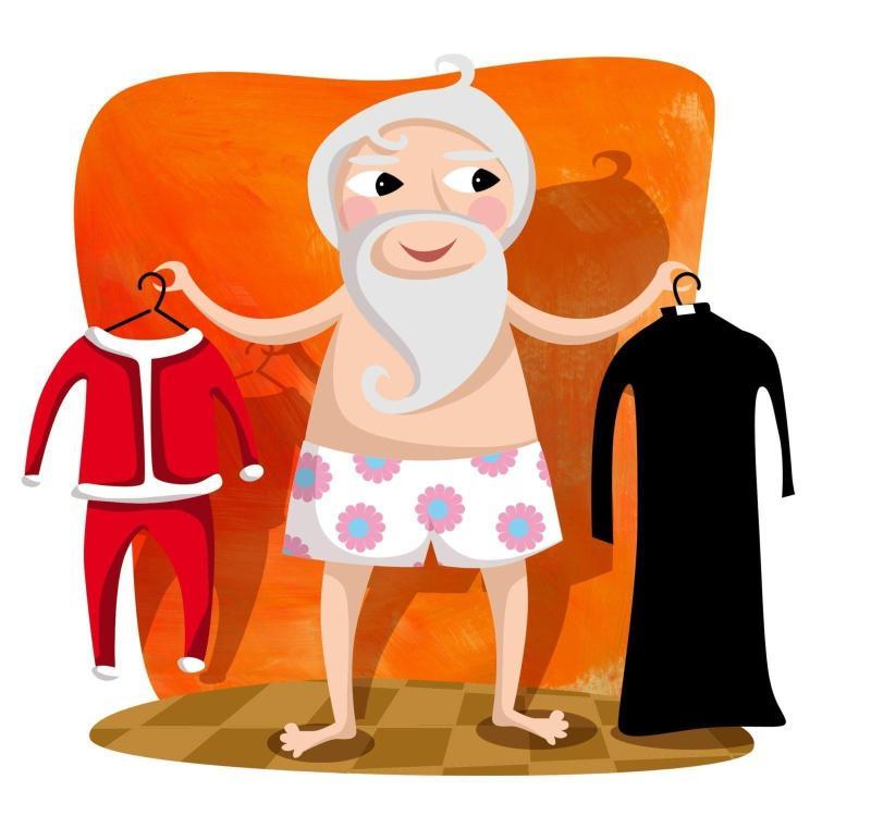 Il vestito di Babbo Natale Chiara Gobbo l'EstroVerso