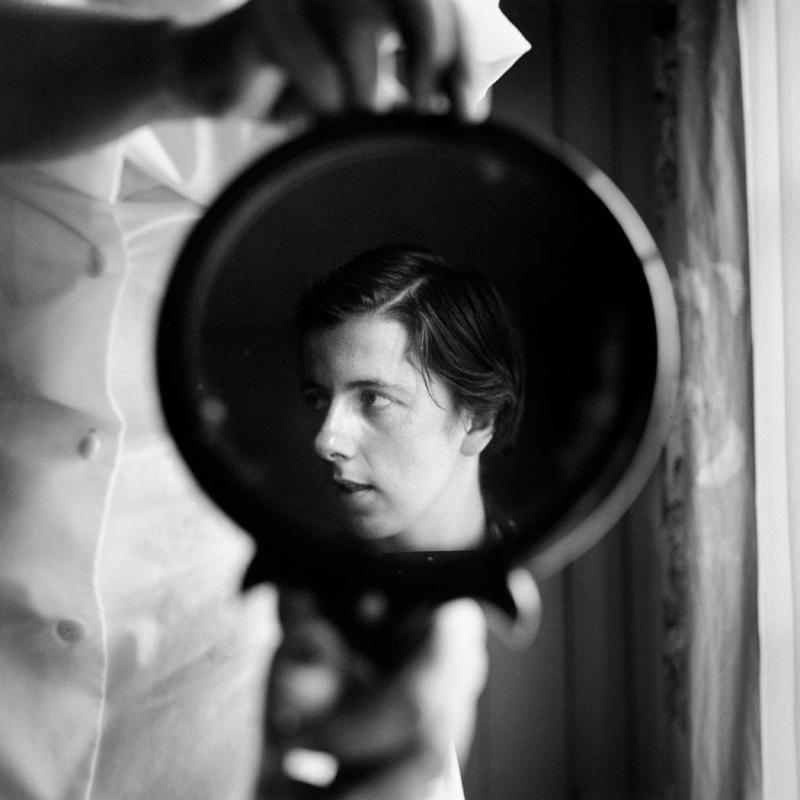 Vivian Maier, Self-Portrait, 1955  SAVINA