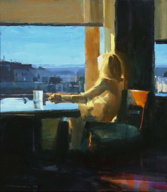 Ben Aronson, Woman by a Window, 2008 LETIZIA