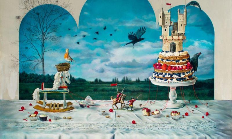 """""""Ogni dipinto è una pagina del mio diario"""". Elisa Anfuso, vincitrice del IV Premio Internazionale di Pittura """"Giuseppe Sciuti""""."""
