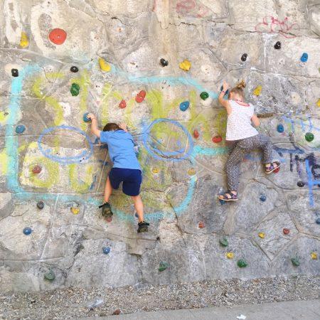Kids klettern