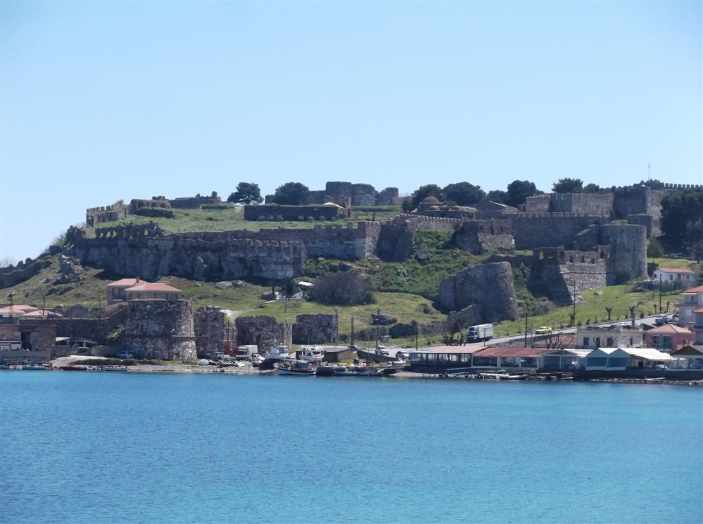 The castle in Mytilene Lesvos