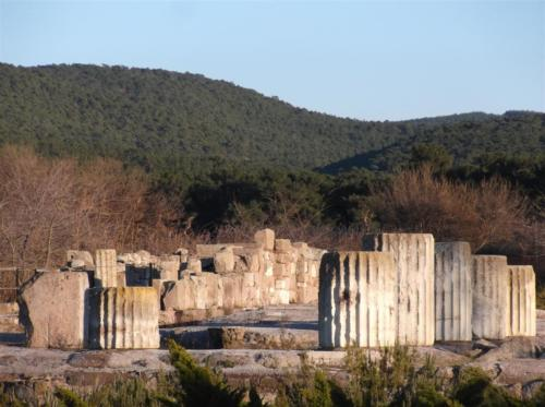 Ancient site/ruins of Messa