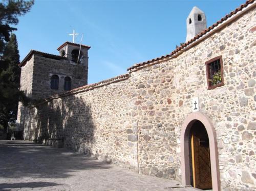 Taxiarchis Monastery near Mantamados Lesvos
