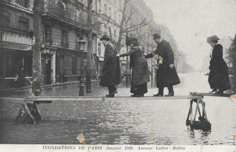 Inondations Paris 1910