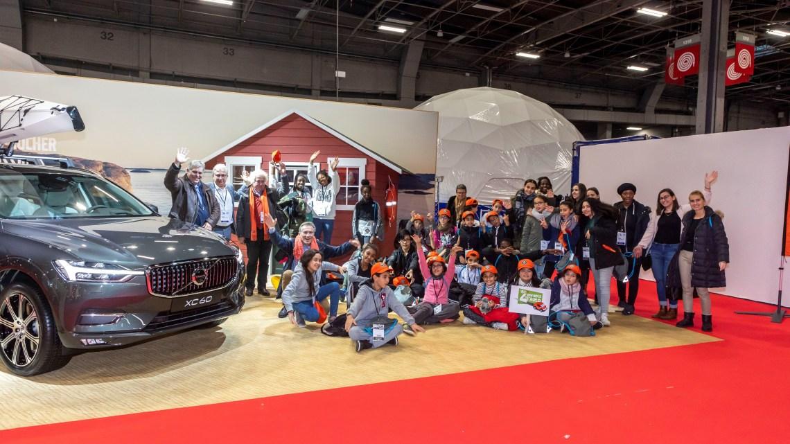 Visite VIP du Nautic 2018 pour 40 enfants avec Volvo