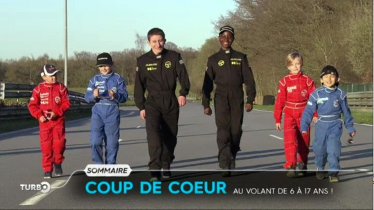 Les Z'enfants de l'Auto à l'honneur dans TURBO sur M6