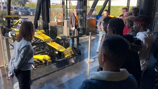 Renault Sport Racing ouvre ses portes aux Z'enfants