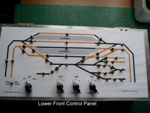 Lower Front Control Panel