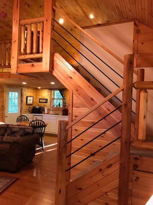 Letchworth Cabin Romantic Weekend WNY Wedding Night Near Letchworth
