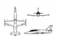 L-39 nákres