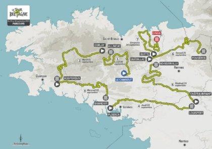 Biking.  Tour de Bretagne: a demanding 54th version – Biking