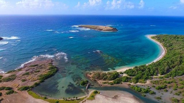 Anse Meunier en Martinique