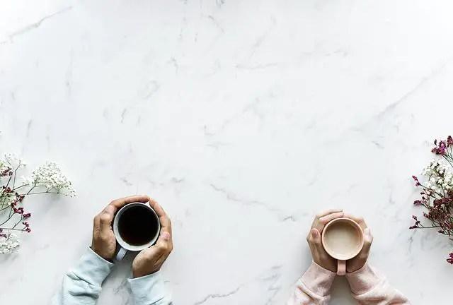 café et thé 2 tasses