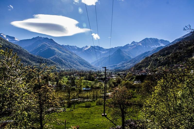 hory údolie