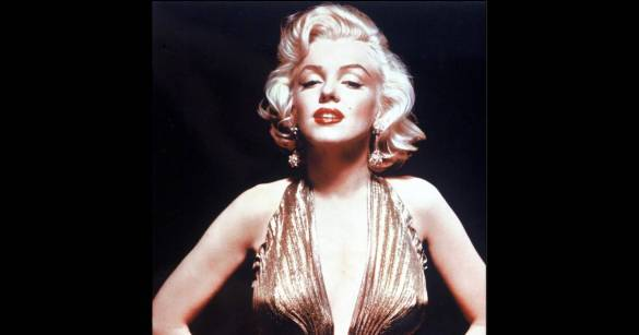 Marilyn Monroe. Source : purepeople.com