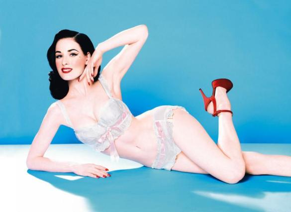 Dita Von Teese. Source : enjoy-your-style.com