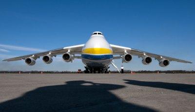 Největší letadlo světa v Praze