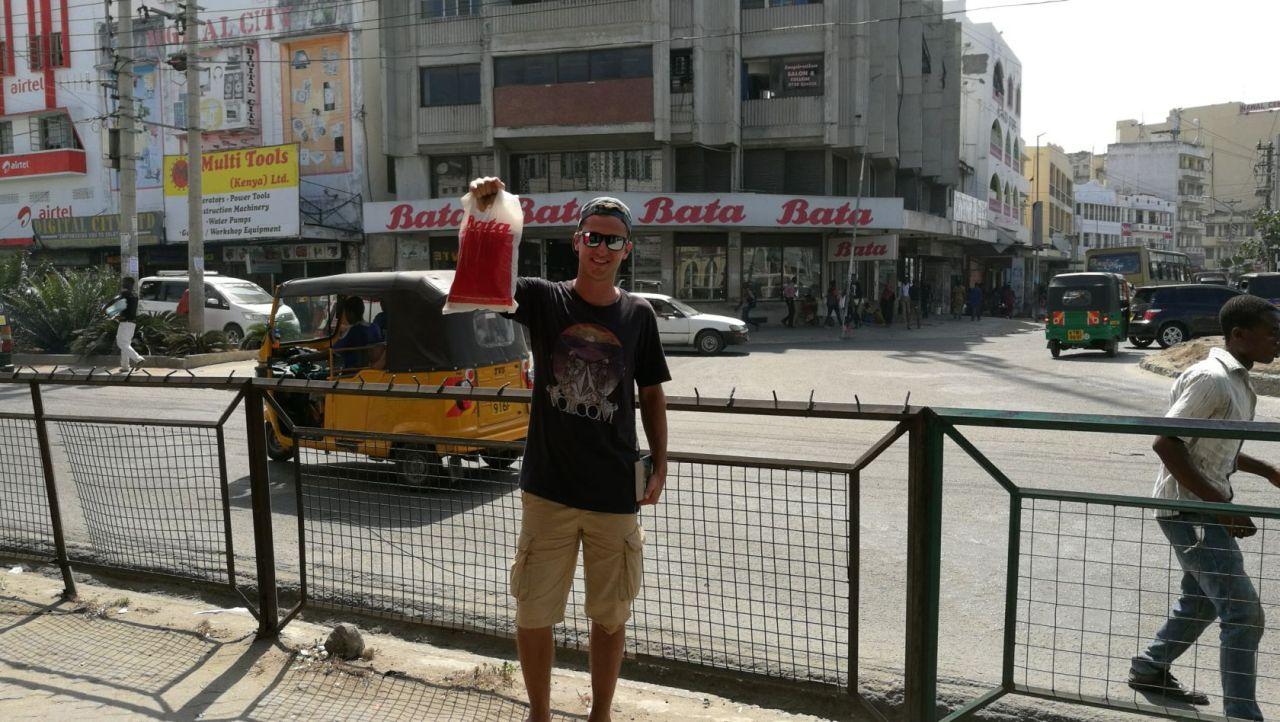 Mombasa, Keňa, Afrika