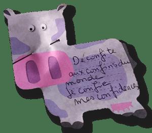 Les murmures du lavoir : animation confinée mai 2020
