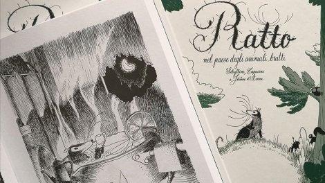 ratto nel paese degli animali brutti libro per bambini