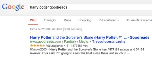 Google e Goodreads