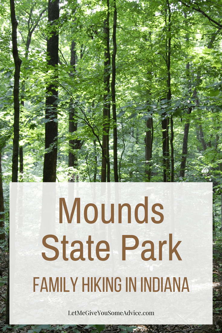 Mounds State Park is close to Indianapolis and provides great family hiking, camping and even a pool during the summer. Find out more about one of Indiana's State Parks, perfect for families.