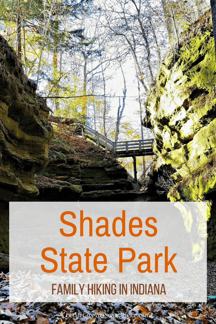 Shades State Park in Indiana is great for family hiking and less crowded than its neighbor, Turkey Run State Park. Find out my best tips on exploring this Indiana State Park.