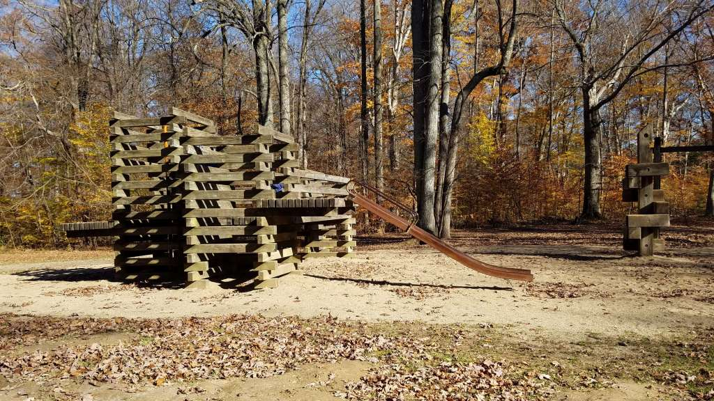 Wooden Playground at Shades State Park   Let Me Give You Some Advice
