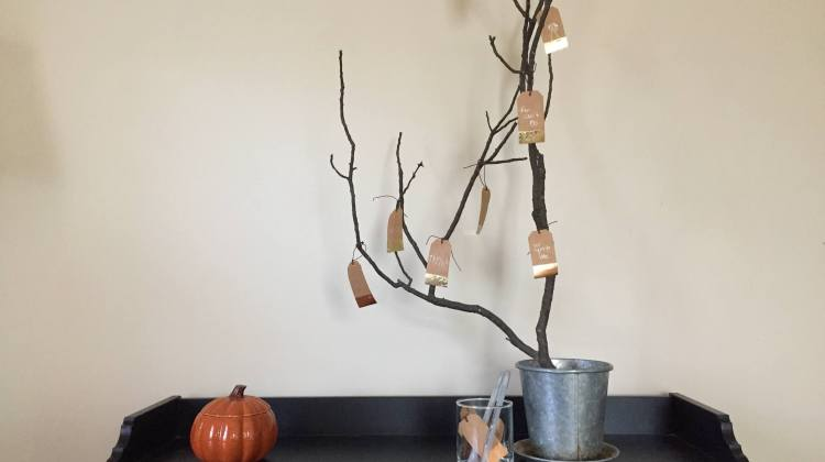 Make Your Own Thanksgiving Tree