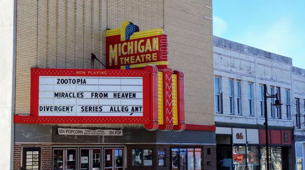 Michigan theater South Haven MI from Let Me Give You Some Advice