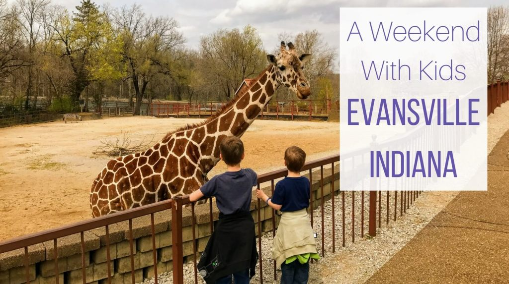 Family Getaway Weekend with Kids in Evansville, IN from Let Me Give You Some Advice