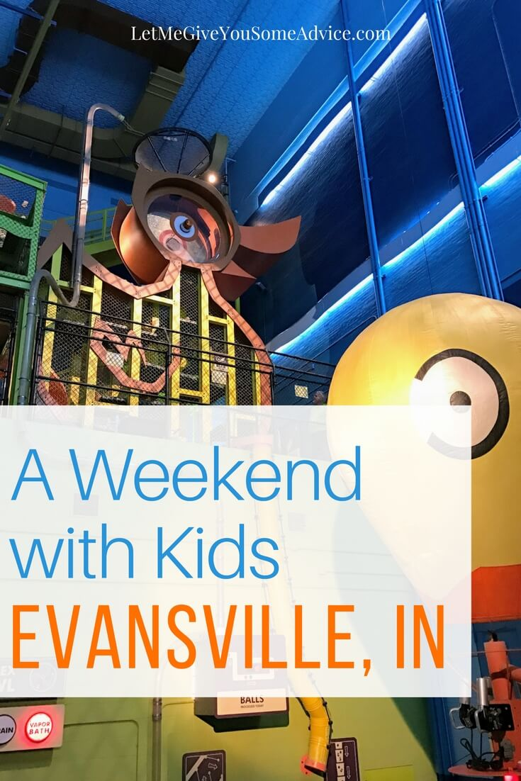 What to do Evansville with kids. Family-friendly ideas for a weekend with kids in Evansville, Indiana. An affordable Midwest getaway for family fun. Find out where to eat and what attractions are perfect for kids.