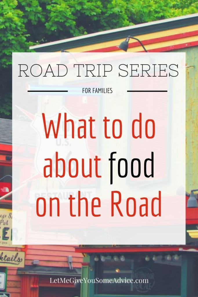 Road Trips for Families Series: Part 4 - Road Trip Food Ideas