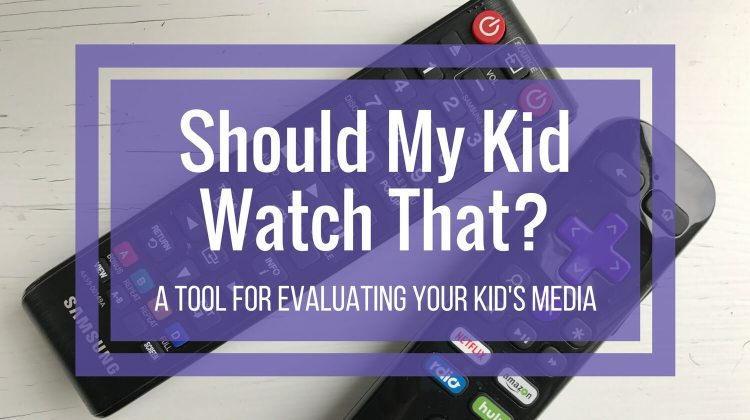 Should I Let Me Kid Watch That? - A Tool for Evaluating Your Kid's Media