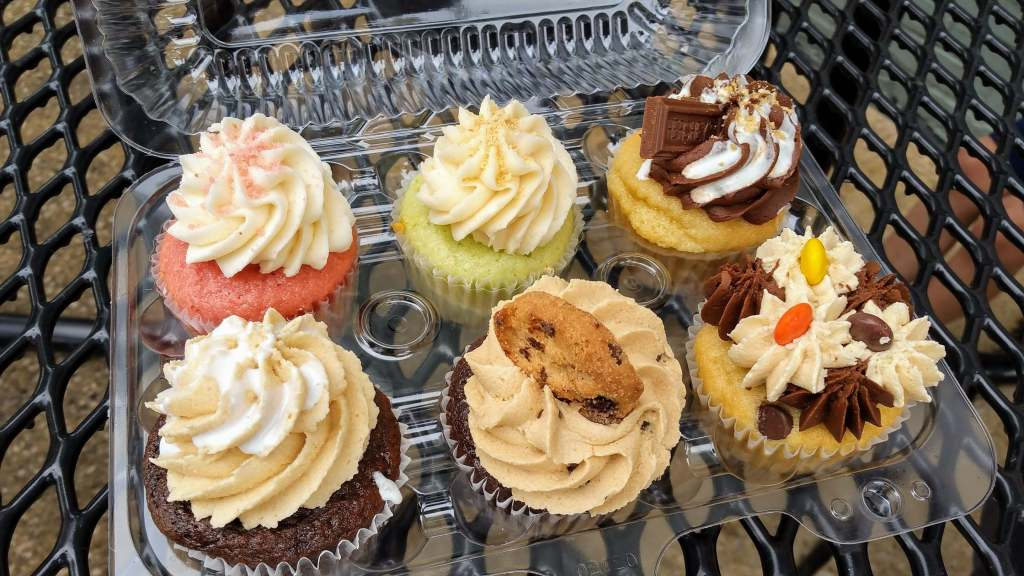 Mimi's Cupcakes - A Day in St. Joseph, Michigan with kids