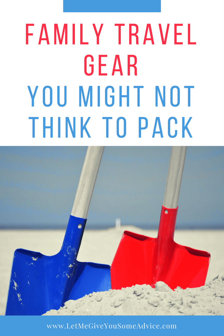 Some unexpected family travel gear you might not think to include when you travel with kids. Find out what items you should pack for your next trip.