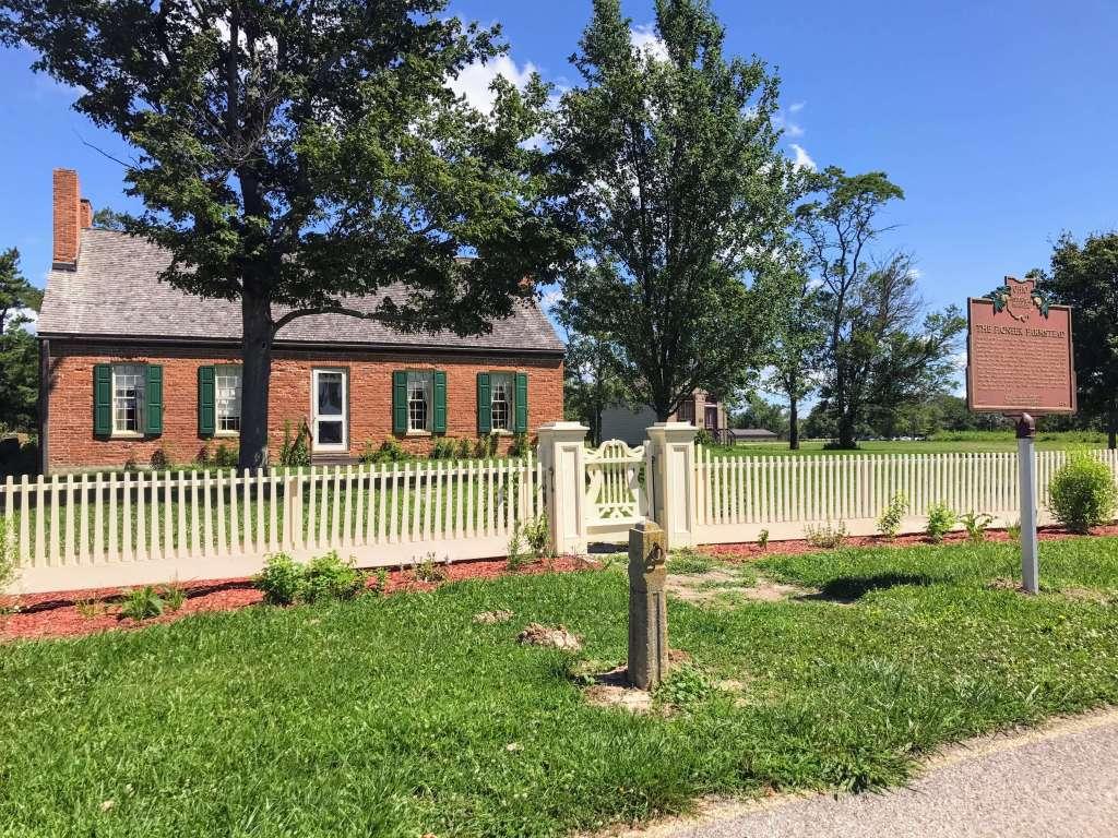 Hueston Woods in Ohio Pioneer House and Farm Museum
