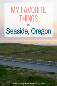 A guide to Seaside, Oregon. What to do, where to stay and why this is a perfect overnight on your Oregon Coast adventures.