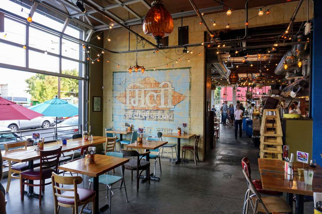 Portland Food Itinerary - Bollywood Theater
