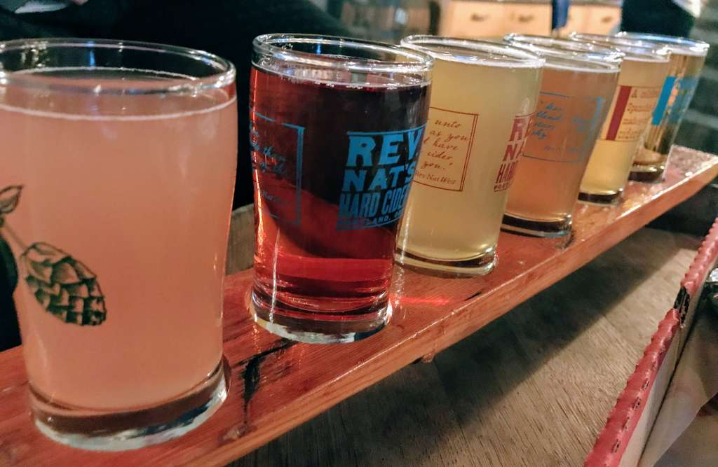 Portland Food Itinerary - Rev Nat's Cidery