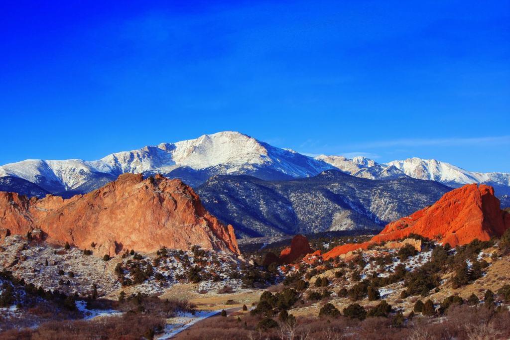 Colorado Springs with Kids - Pikes Peak