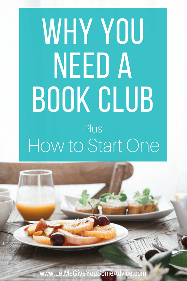 Why you need a book club. Think a book club isn't for you? Find out why everyone should be reading in a group and how to start your very own. 
