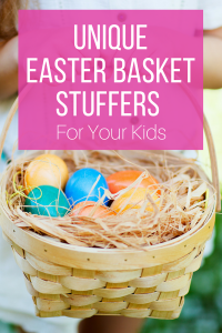 Unique Easter Basket Stuffers for Your Kids - Eggs in Basket
