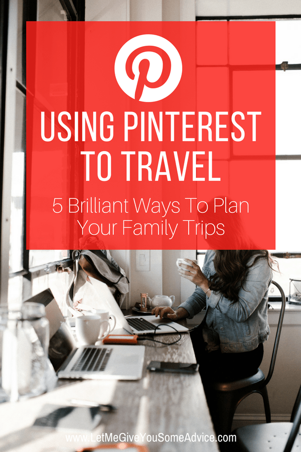 Are you using Pinterest to travel? Pinterest can be a powerful vacation planning tool that connects you to insider tips, real reviews and sound advice from real parents who have traveled with kids. Discover how a Pinterest search can help you find unique family travel destinations and tricks for traveling with kids. #familytravel #vacationplanning