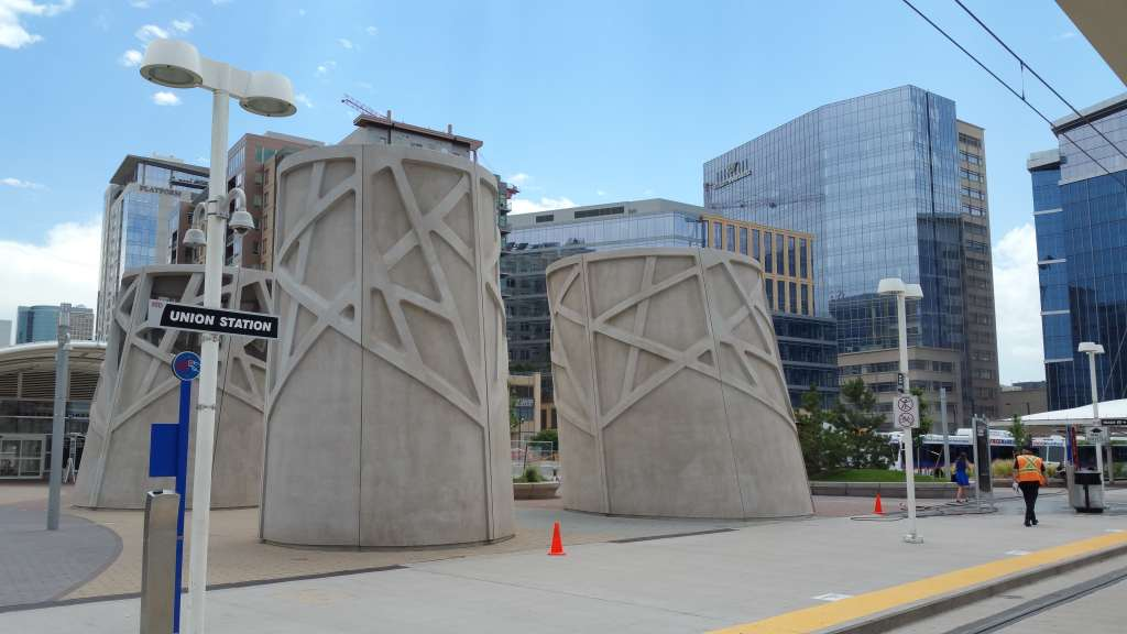 Affordable Hidden Gems in Denver for Kids - downtown Denver light rail station