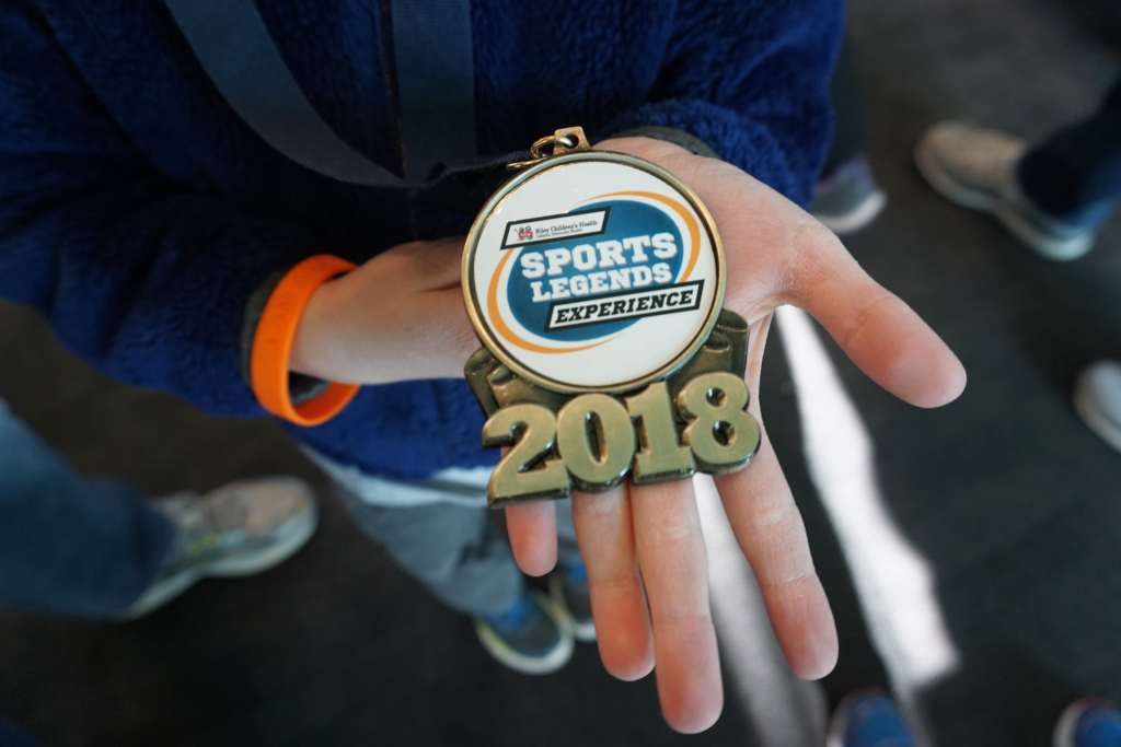 Sports Legends Experience Tips - Holding Medal