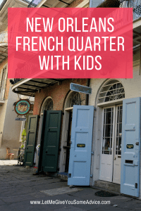 There are tons of ways to explore the French Quarter with kids. New Orleans can make a fun family vacation. Find out what do with kids in the French Quarter in New Orleans.